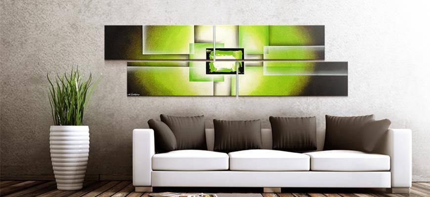 handgemalte wandbilder moderne kunstdrucke und. Black Bedroom Furniture Sets. Home Design Ideas