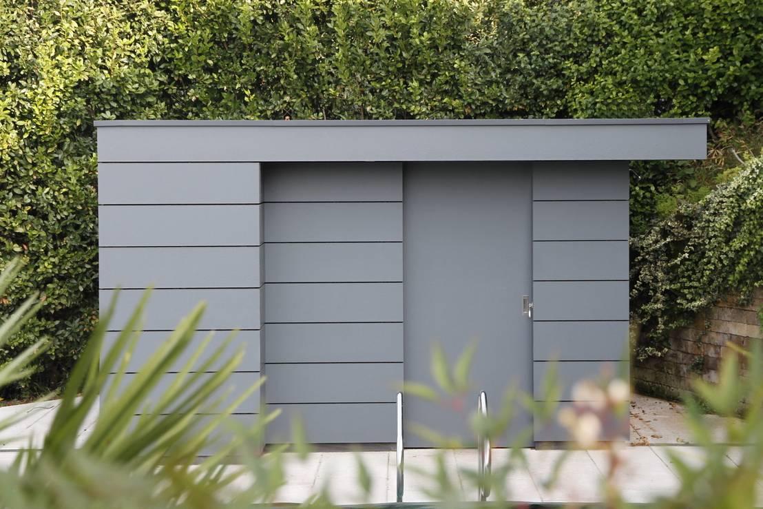 moderne design gartenhäuser - nichts von der stange ! von