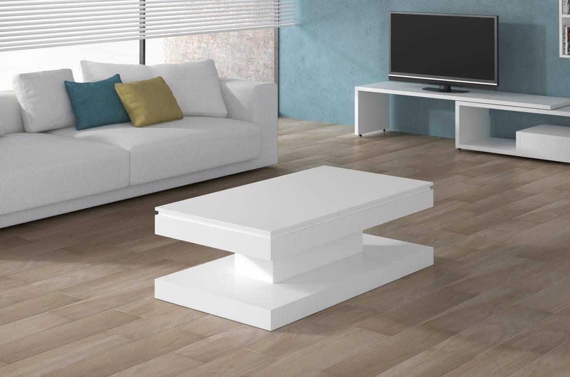Mesa de centro elevable y de dise o di martbert mobiliario for Mesas de comedor tuco