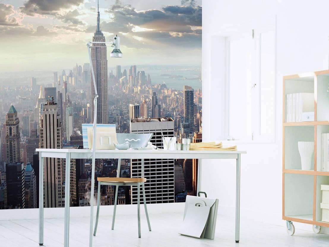 Cool Wandtattoo New York Galerie Von Atemberaubende Fototapeten Im Xxl Format | Tapeten