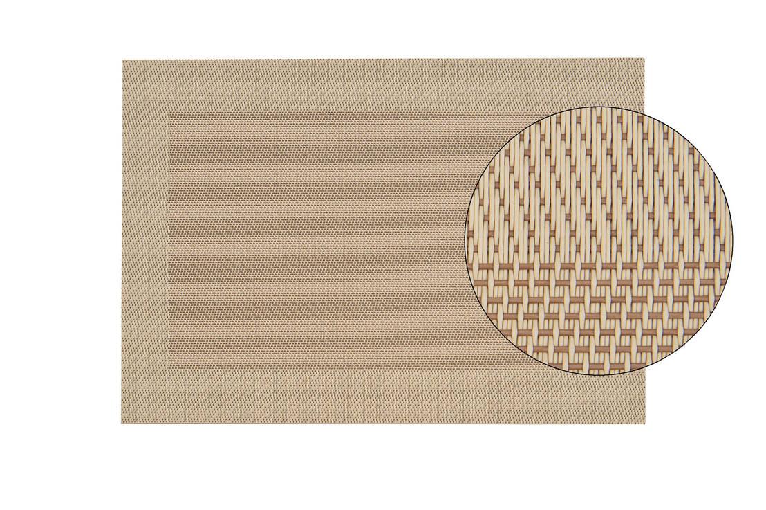 gedeckter tisch gewebte platzsets und bestecktaschen f r. Black Bedroom Furniture Sets. Home Design Ideas