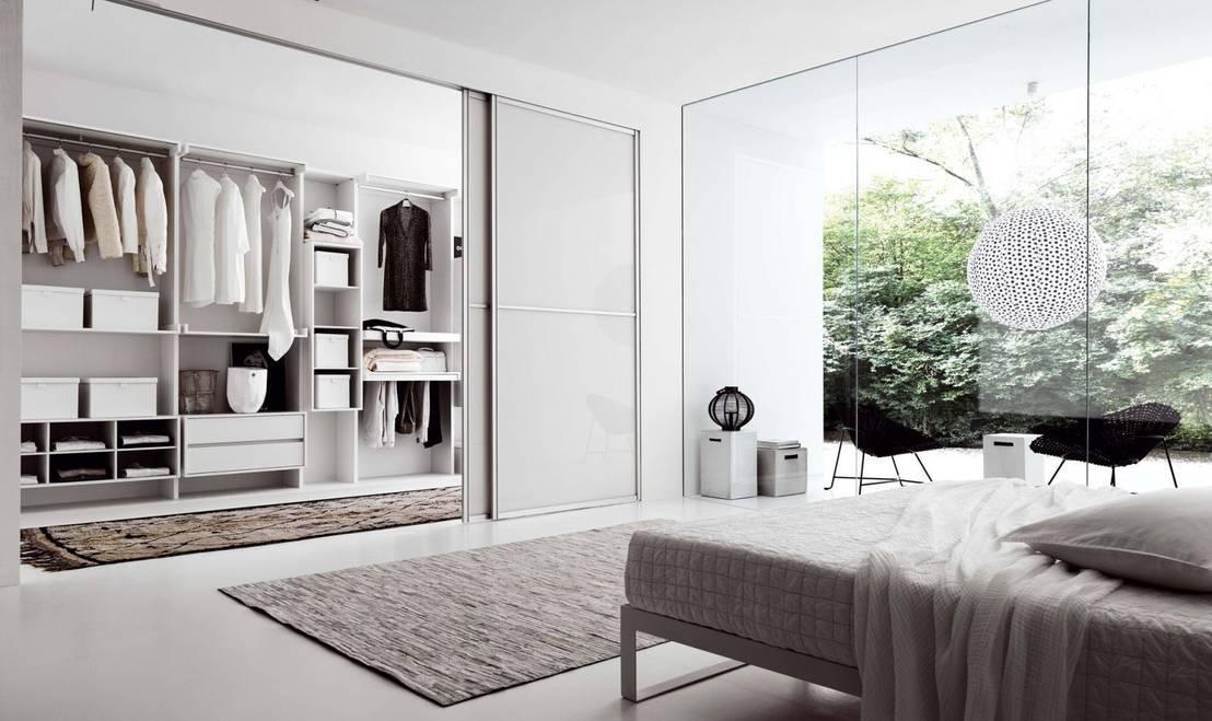 Closets modernos 9 dise os fabulosos para tu rec mara for Closet para recamaras modernas