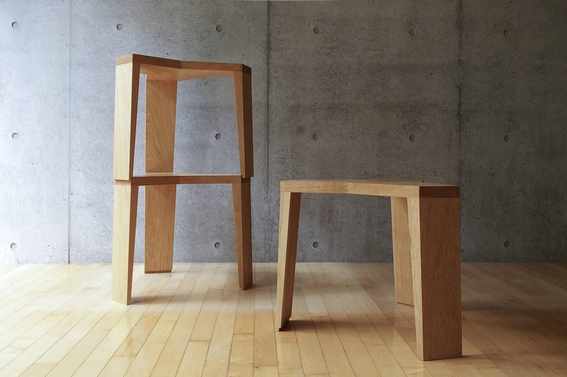 Yata stool von hirakoso design homify - Tipos de saunas ...