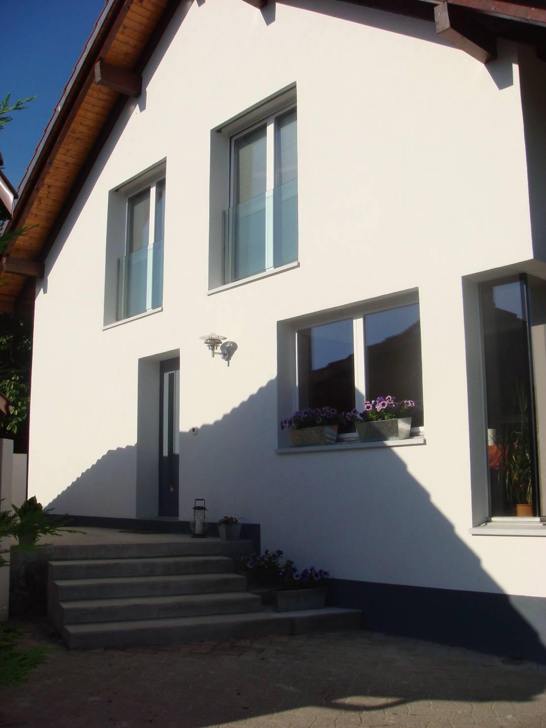 Extension d 39 une villa comuny suisse von agence d for Agence architecture suisse