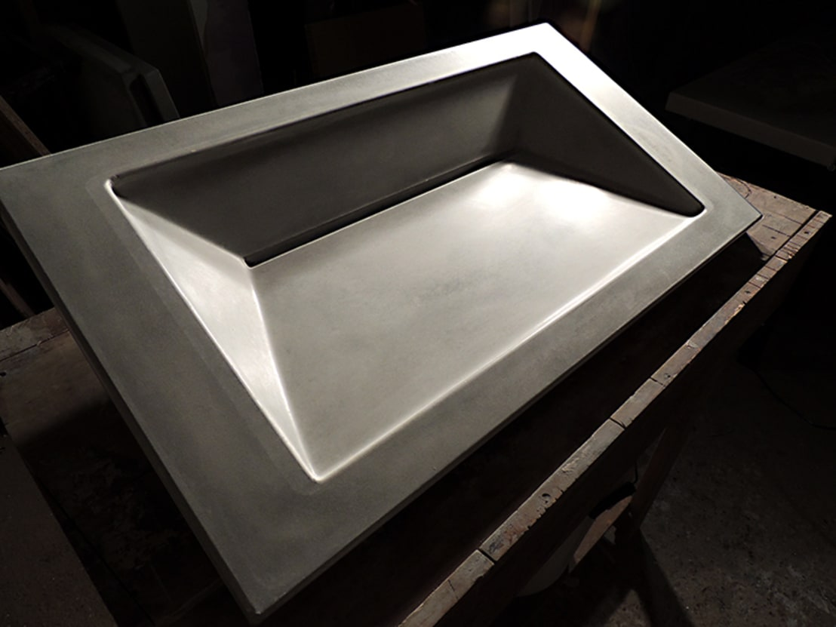 Symmetrical Concrete Ramp Sink By Forma Studios Homify