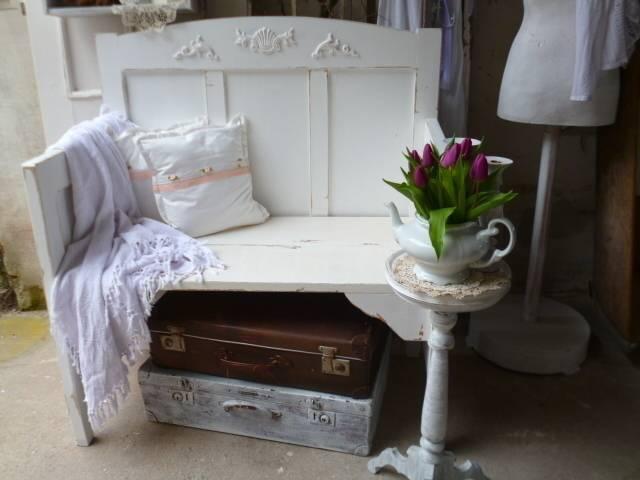 vintage bank shabby chic von kunstwerkstatt homify. Black Bedroom Furniture Sets. Home Design Ideas