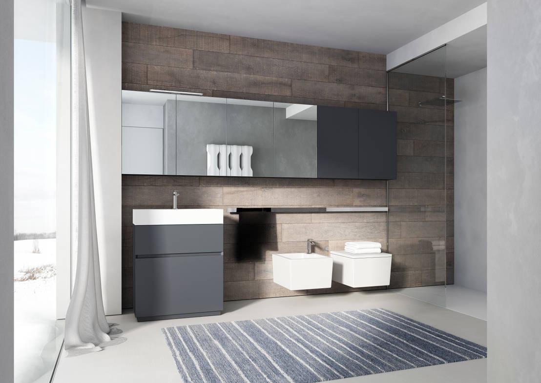 Cubic Bathroom Profesjonalista Alm Design Homify