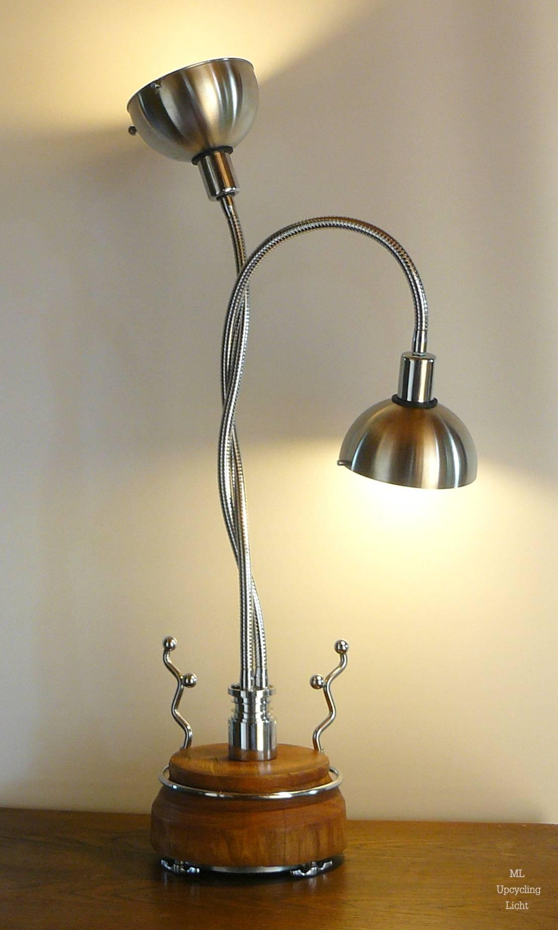 leuchten aus sch nem schrott und h bschen fundst cken von ml upcycling licht homify. Black Bedroom Furniture Sets. Home Design Ideas
