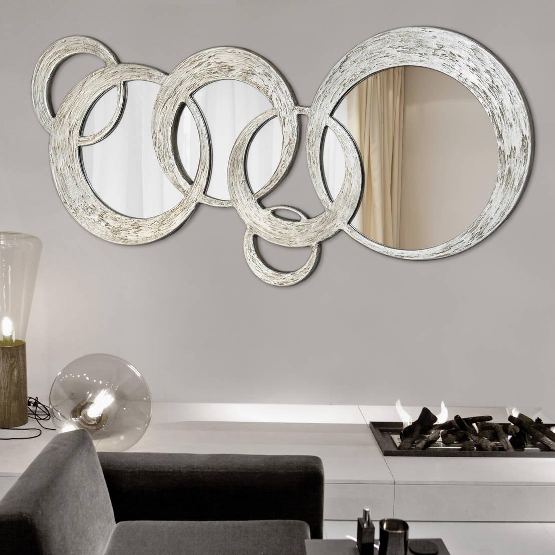 Espejos italianos de decoracion gimenez homify for Espejos plateados para salon