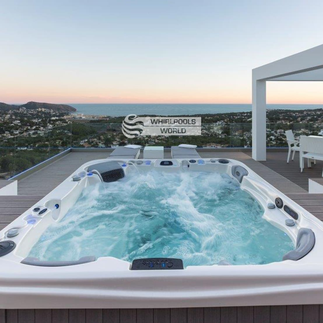 outdoor whirlpools von whirlpools world de whirlpools world homify. Black Bedroom Furniture Sets. Home Design Ideas