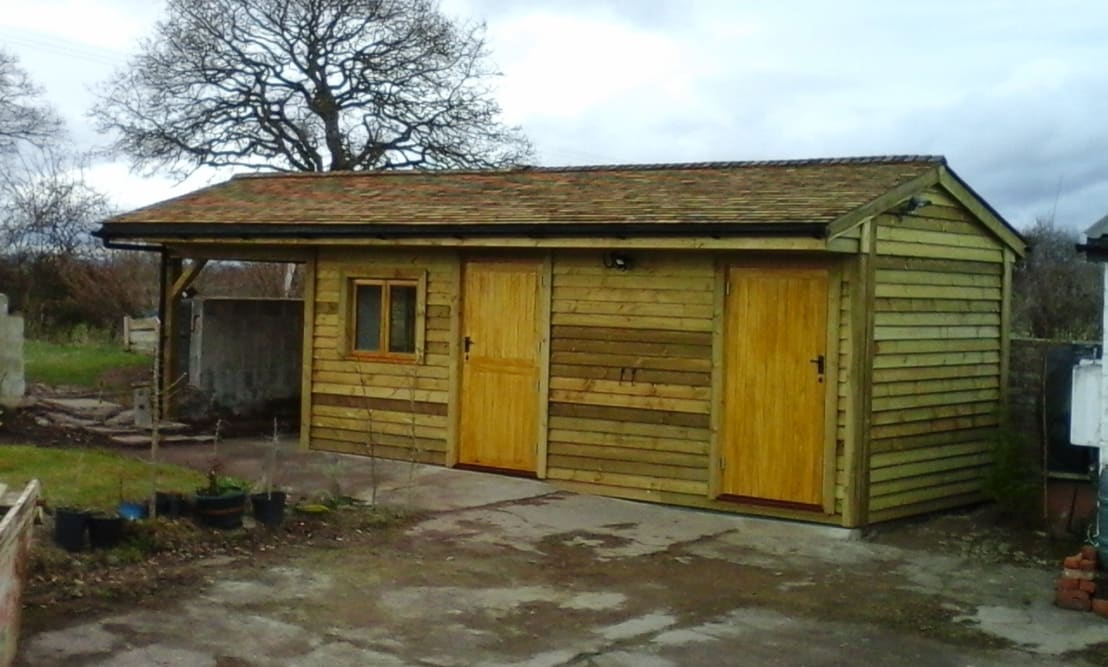 Country office and store por pristine garden rooms homify for Pristine garden rooms