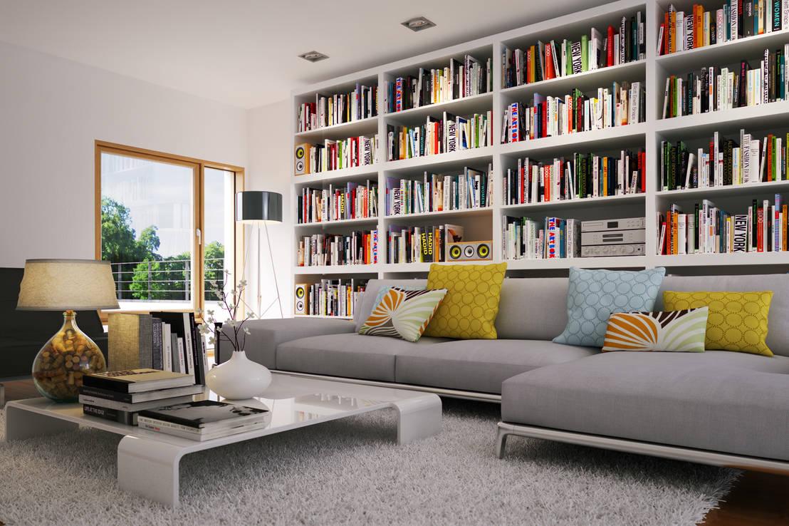 Dove mettere libri ed oggetti 6 soluzioni per la casa for Calcolatrice personalizzata per la casa