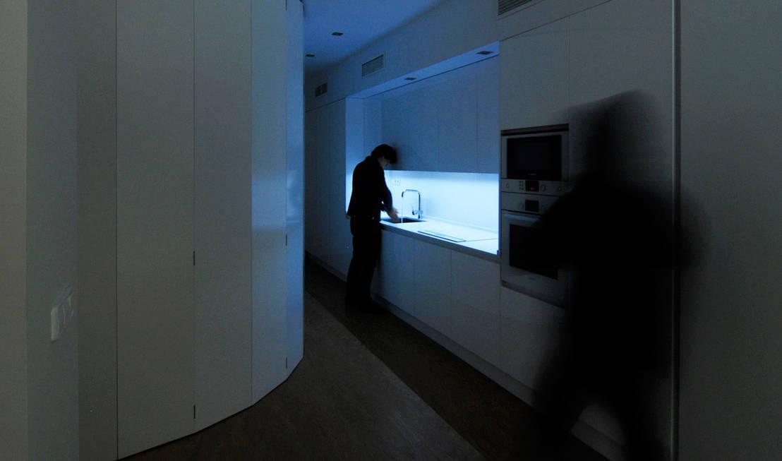 Reforma de apartamento en sevilla de cm4 arquitectos homify - Cm4 arquitectos ...