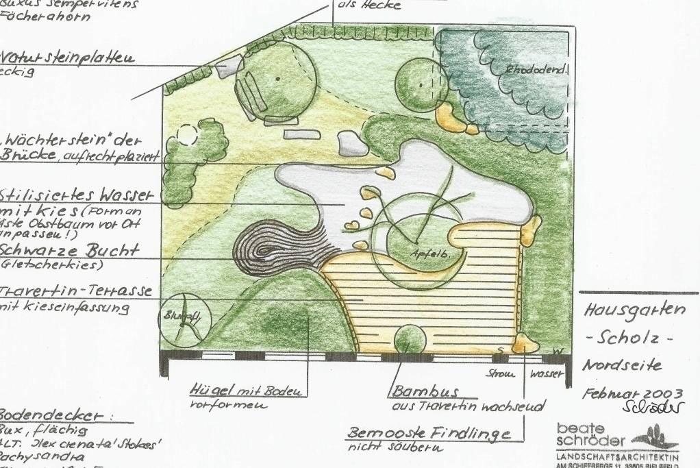 japanischer garten von beate schr der. Black Bedroom Furniture Sets. Home Design Ideas