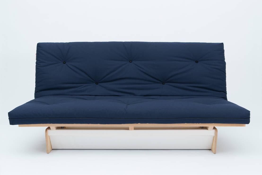schlafsofa eins de futonwerk homify. Black Bedroom Furniture Sets. Home Design Ideas