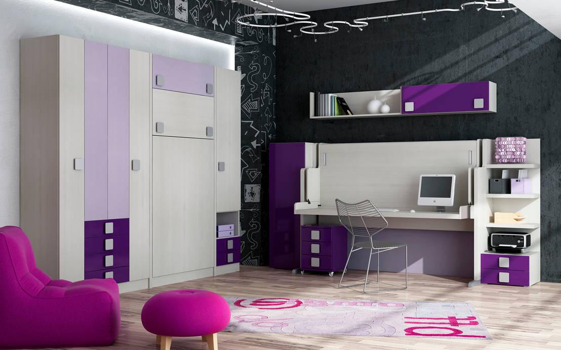 Muebles juveniles abatibles por muebles parchis for Muebles juveniles abatibles