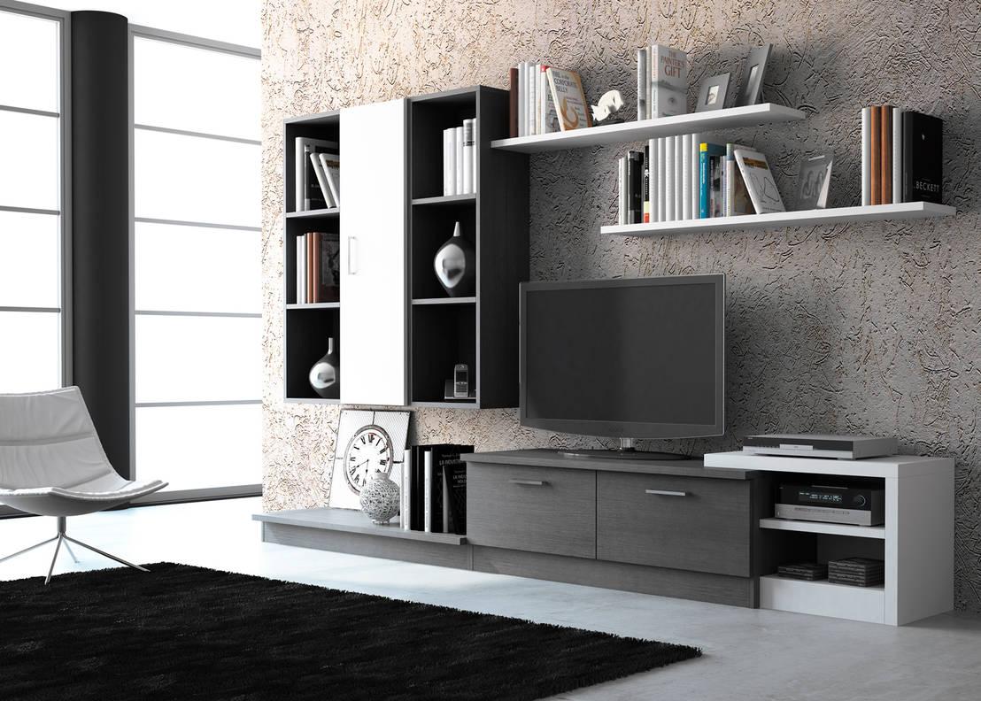 Salones modernos de muebles 1 click homify for Salones modernos wengue