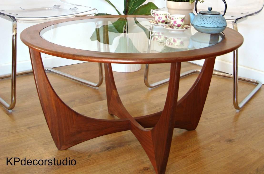 Mesa madera de teca marca g plan ref d13 de kp decor - Mesas auxiliares antiguas ...