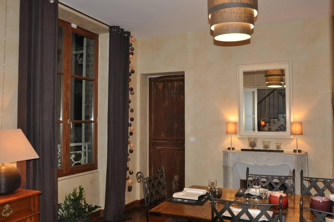 salle manger par corinne decerle architecture et d coration d 39 int rieur homify. Black Bedroom Furniture Sets. Home Design Ideas