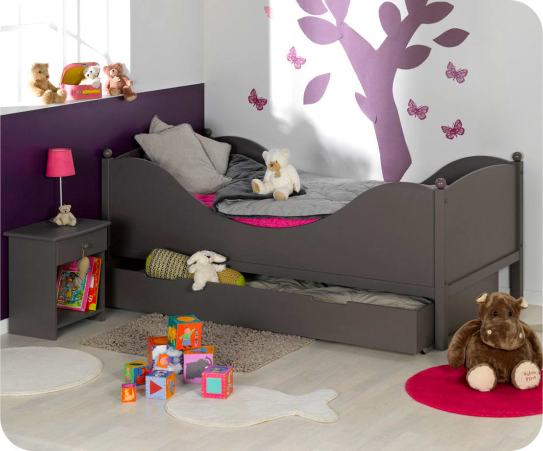 chambre enfant color taupe by ma chambre d 39 homify. Black Bedroom Furniture Sets. Home Design Ideas