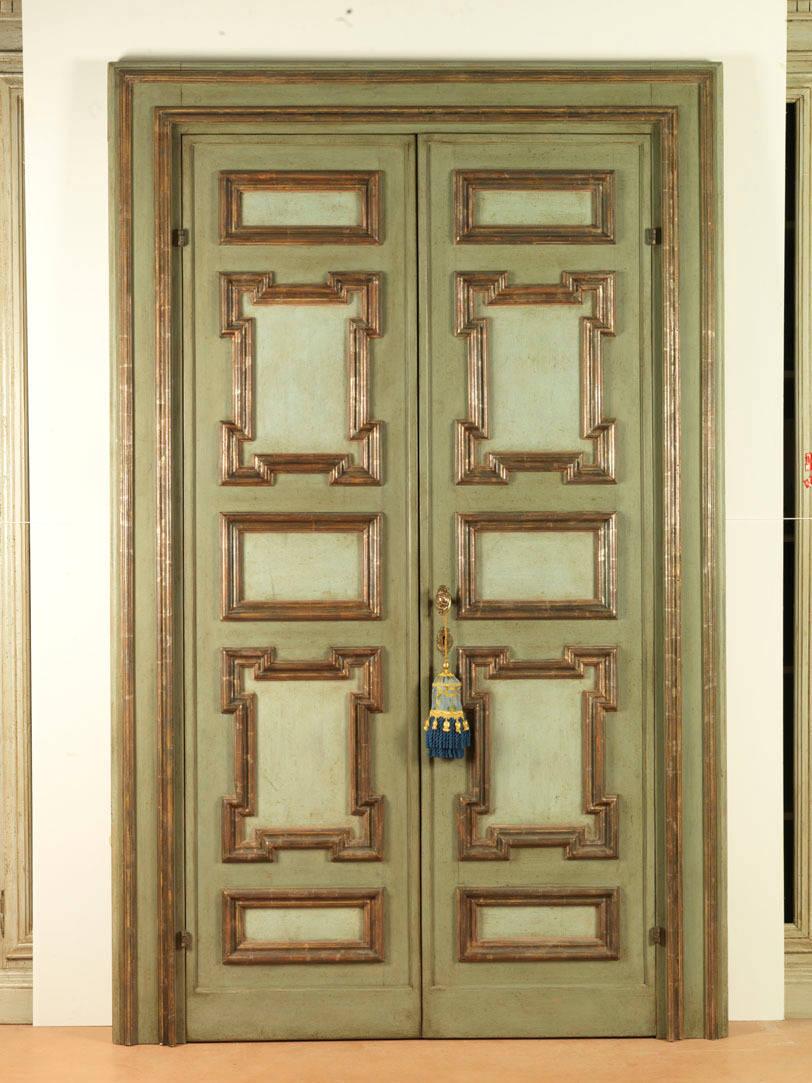 Porte del passato porte riprodotte dipinte homify - Porte del passato ...