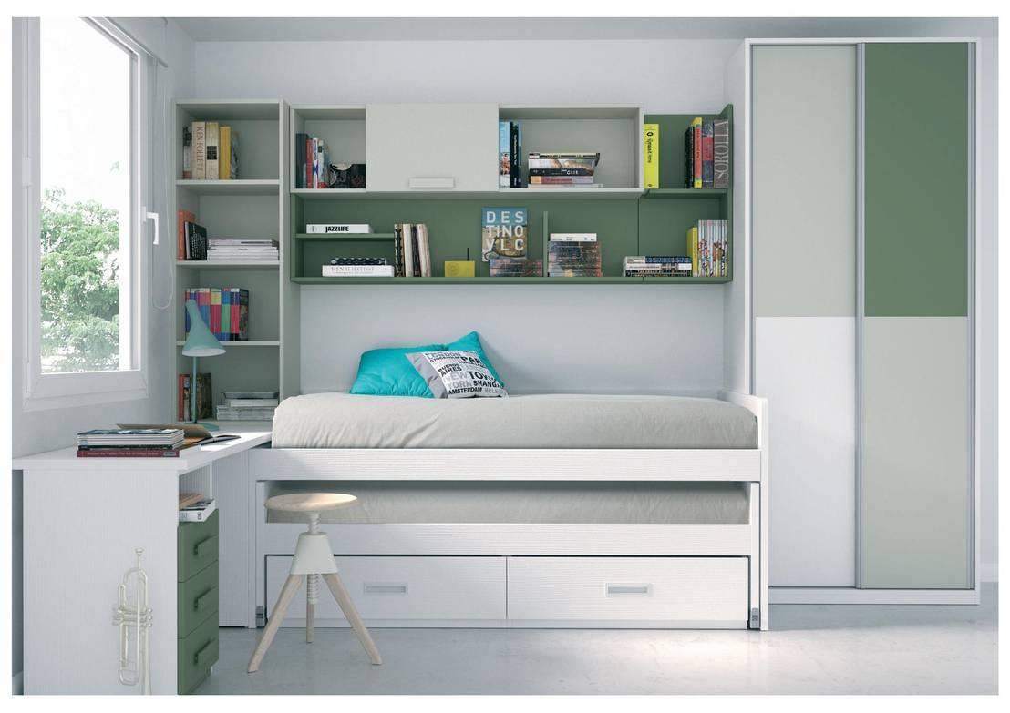 Dormitorios juveniles de muebles arepesa homify for Muebles juveniles