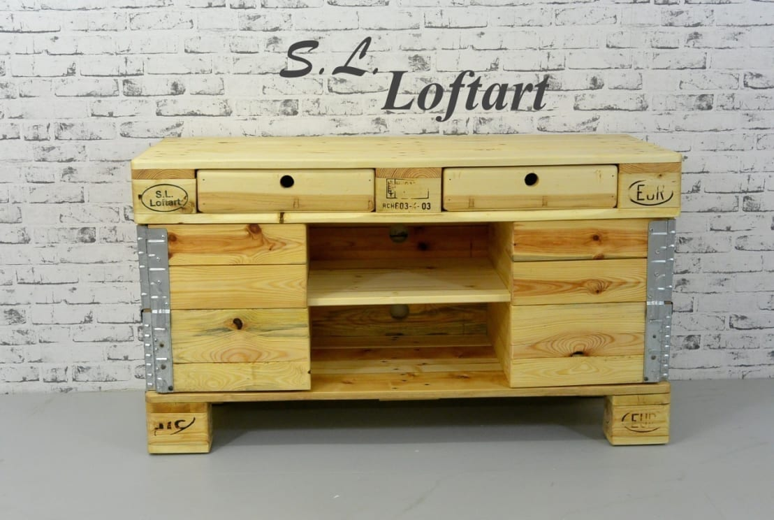 S l loftart sideboard 39 case 120 39 natur by s l loftart for Homify case