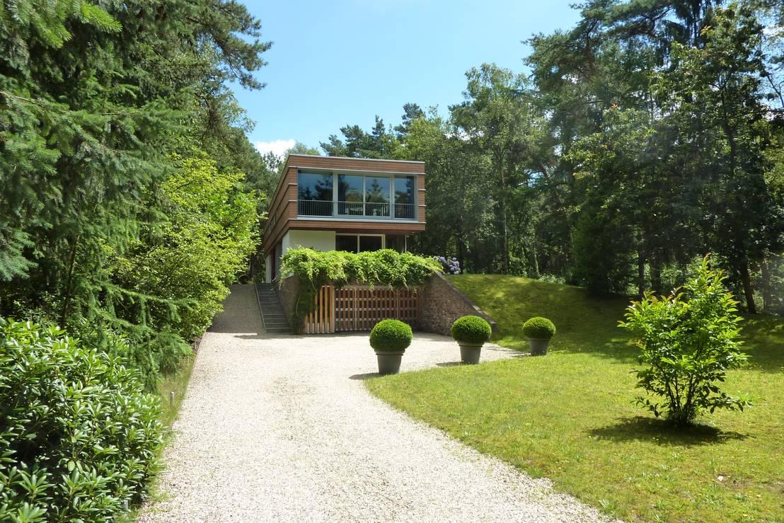 Villa bosch en duin de a12 architectuur bna homify for Jardin hormiguita viajera villa bosch