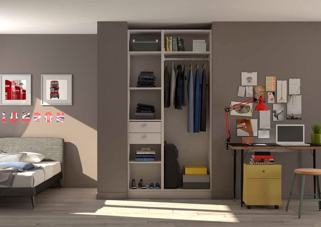 Placard dressing chambre d 39 adolescent by for Chambre adolescent