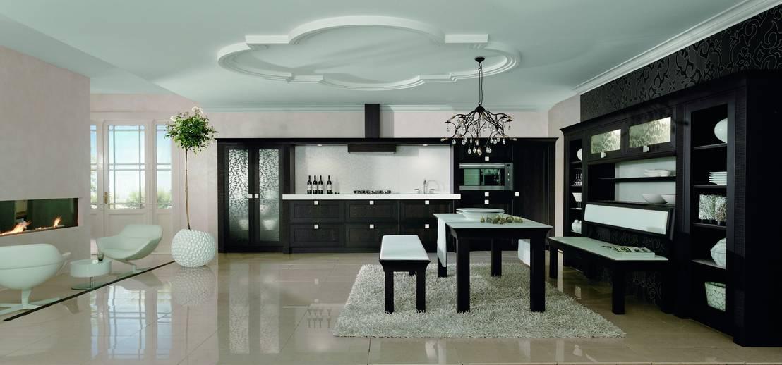 ein highlight der landhaus kultur von dick k chen homify. Black Bedroom Furniture Sets. Home Design Ideas