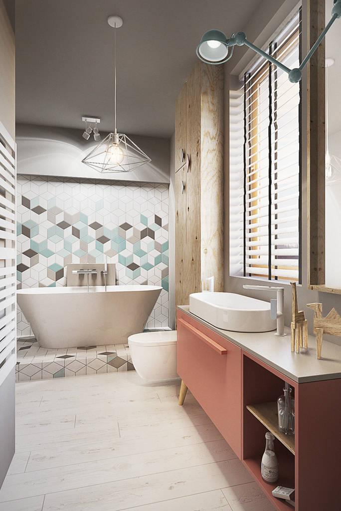 취향이 깃든 휴식 공간을 위해: 욕실 벽 디자인 아이디어