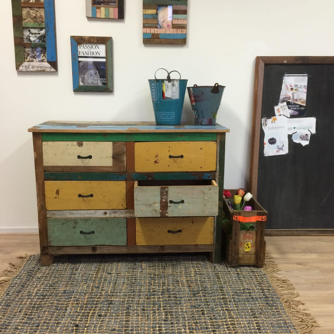 Sloophout meubels door klein stoer homify for Sloophout meubels