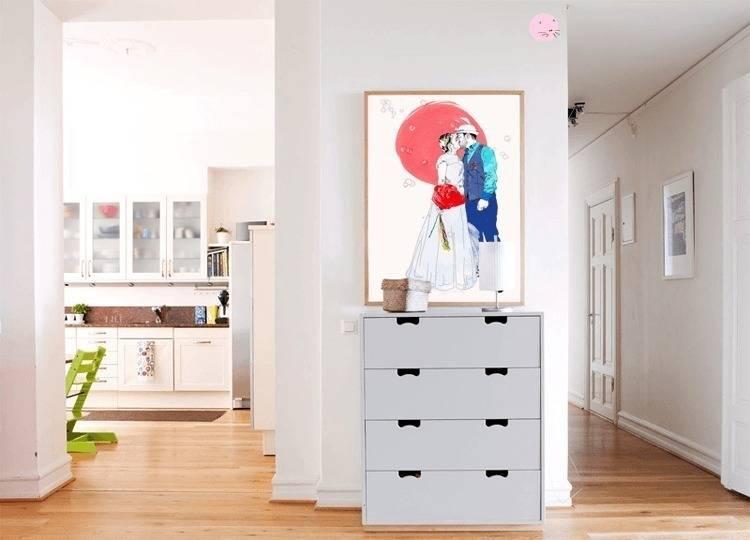 littleportraits de la belette rose homify. Black Bedroom Furniture Sets. Home Design Ideas