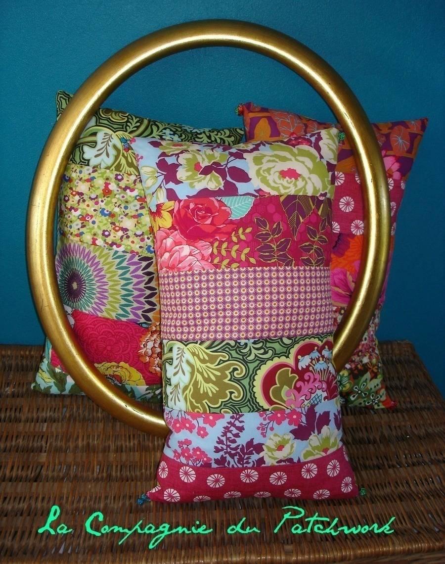 la compagnie du patchwork des coussins patchwork autrement homify. Black Bedroom Furniture Sets. Home Design Ideas