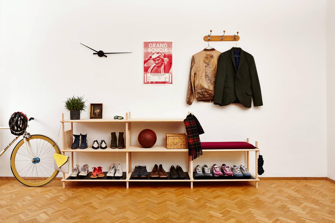garderobenm bel f r style und ordnung im flur. Black Bedroom Furniture Sets. Home Design Ideas