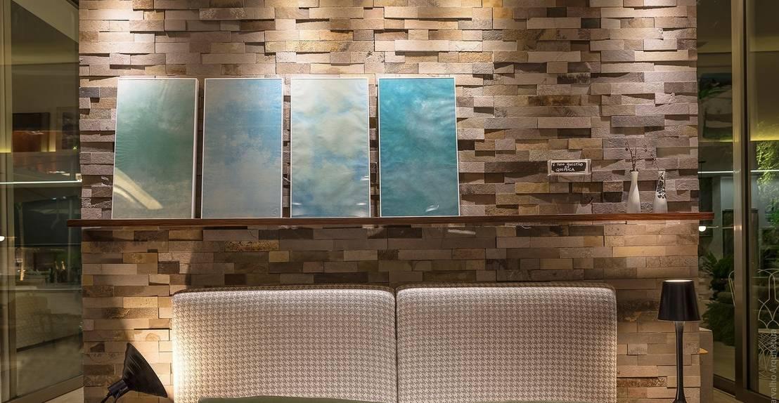 18 ideas fant sticas para revestir con piedra las paredes - Recubrimiento para fachadas ...