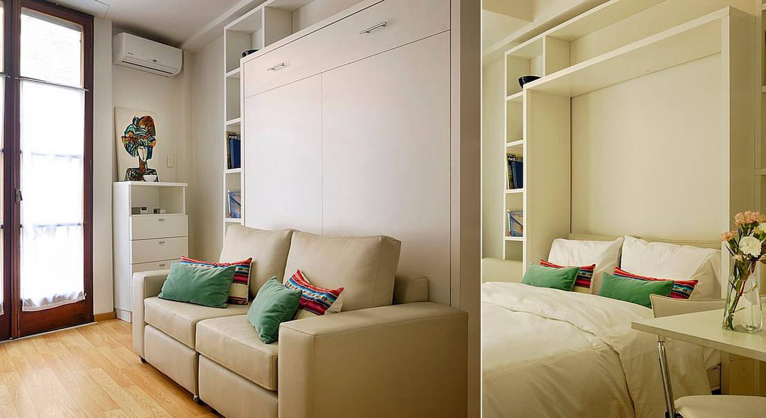 10 trucos para ganar espacio en casas peque as geniales - Trucos para casas pequenas ...