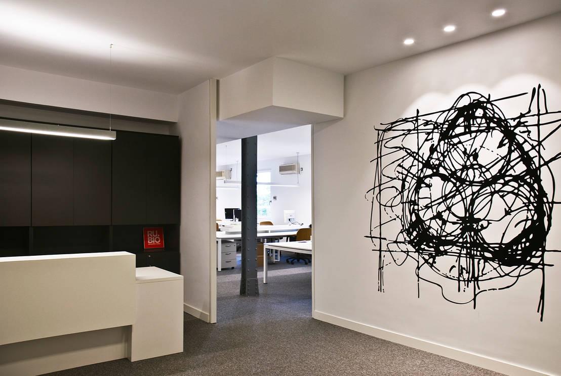 Oficinas rubio arquitectura de bio dec homify for Oficina qualitas auto madrid
