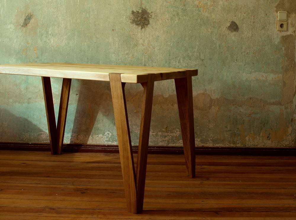 holzarbeiten andr findeisen esstisch aus ahorn homify. Black Bedroom Furniture Sets. Home Design Ideas