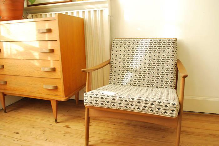 fauteuil scandinave sur mesure de atelier agn s le garrec. Black Bedroom Furniture Sets. Home Design Ideas