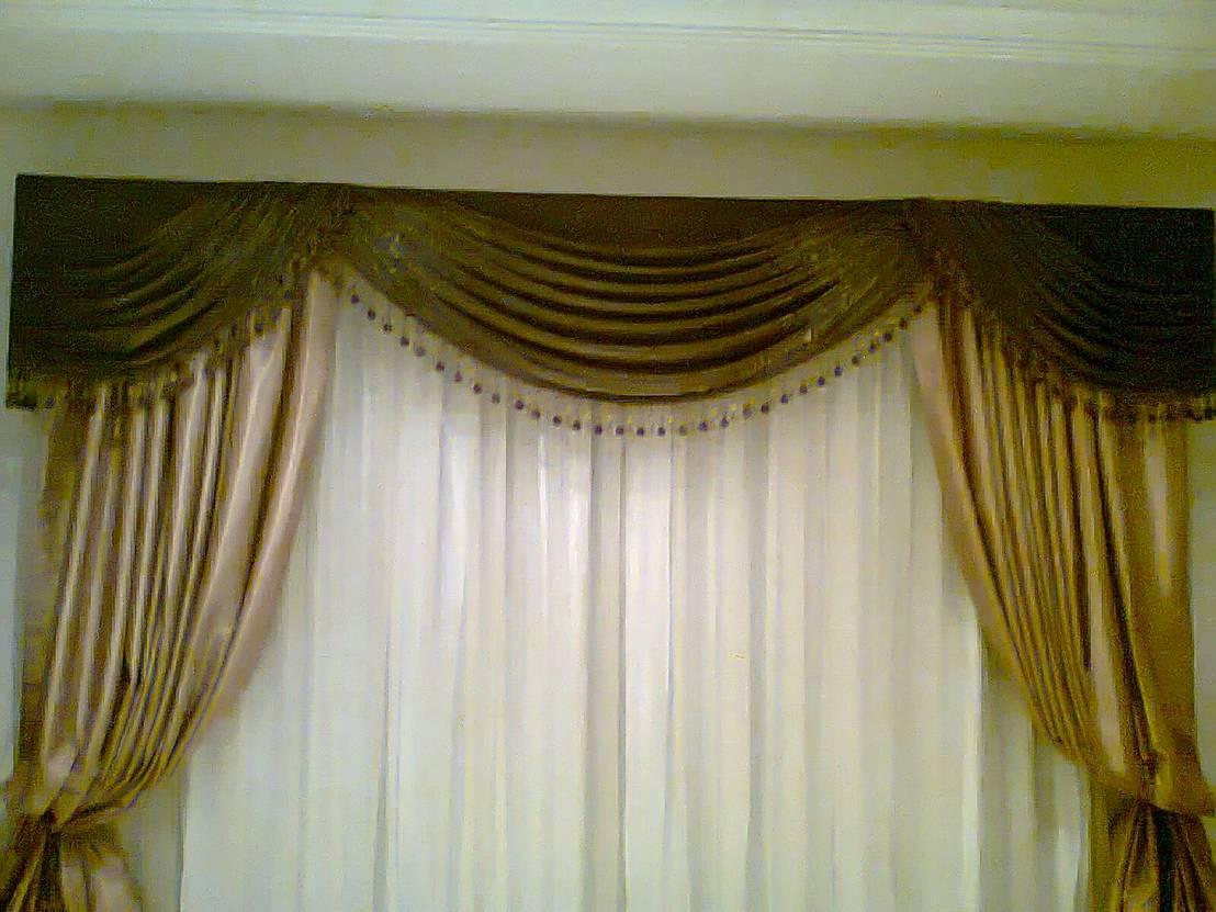 Cortinas y lambrequines de persianas y cortinas milan homify - Persianas y cortinas ...
