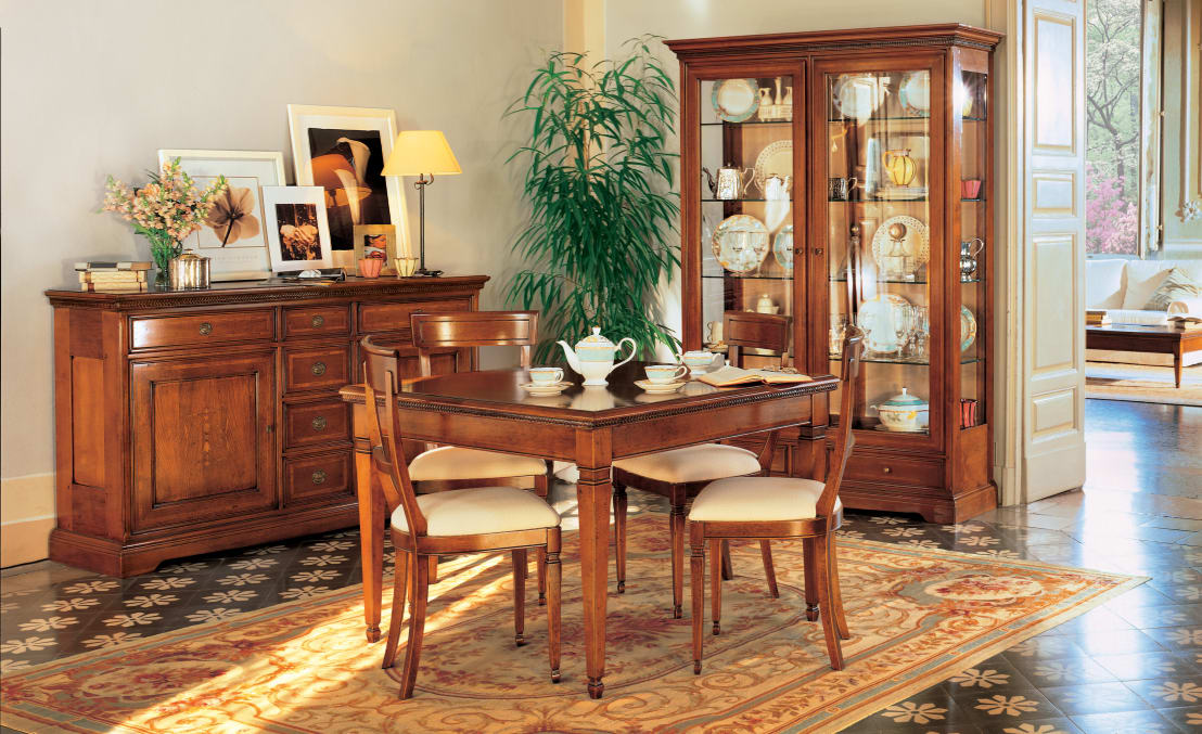 Collezione i ciliegi di le fablier homify for Arredare sala da pranzo classica
