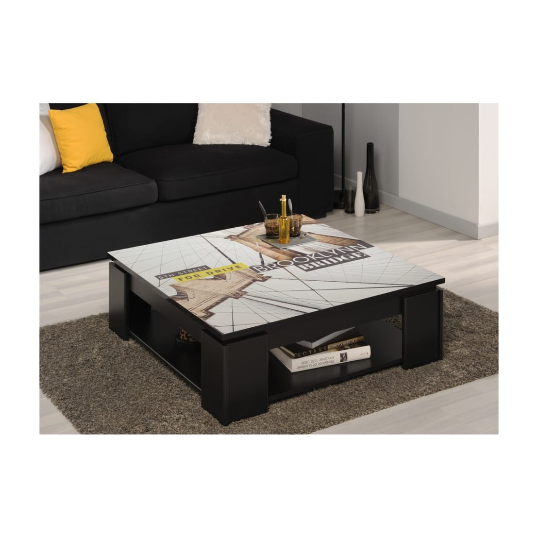 table basse imprim e brooklyn par lastmeubles homify. Black Bedroom Furniture Sets. Home Design Ideas