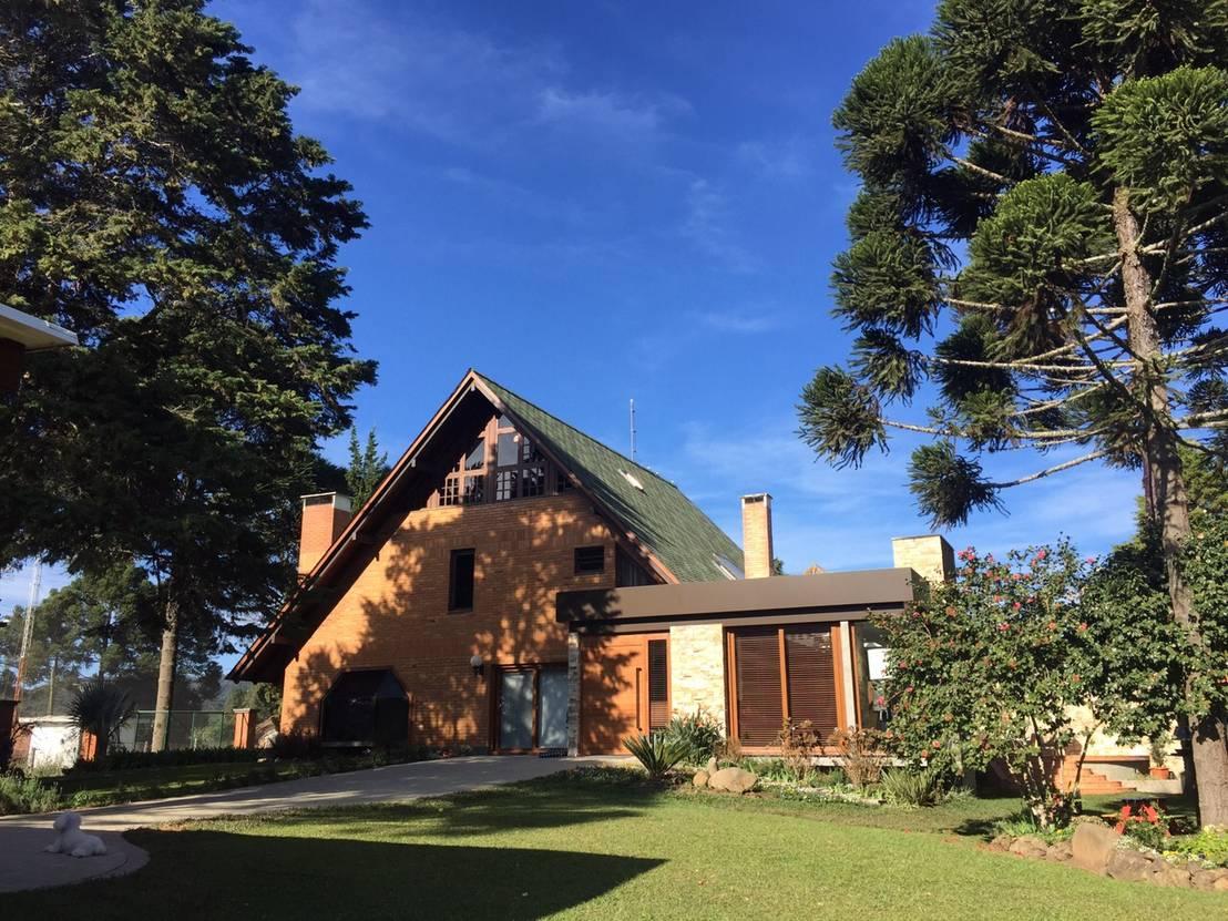 Casa de campo por henrique lima arquitetura homify for Homify casas de campo