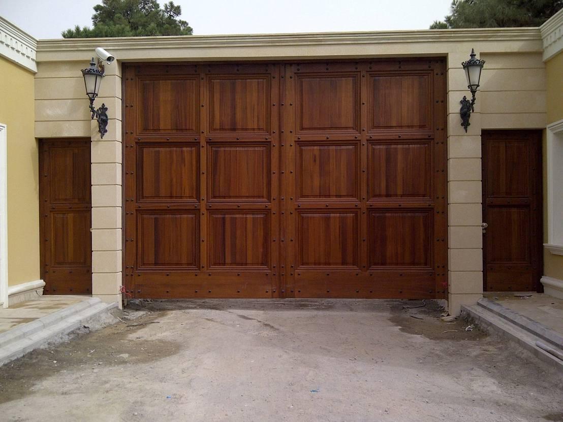 10 puertas y portones sensacionales Portones de garaje