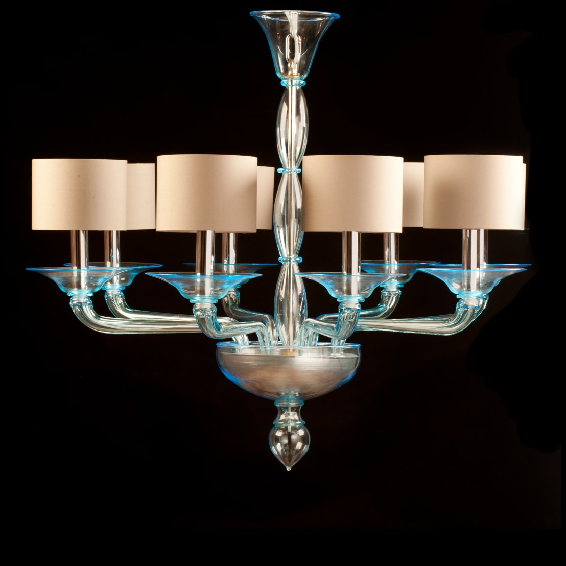Lampadario in vetro di murano lampadario moderno in for Oscar utensili