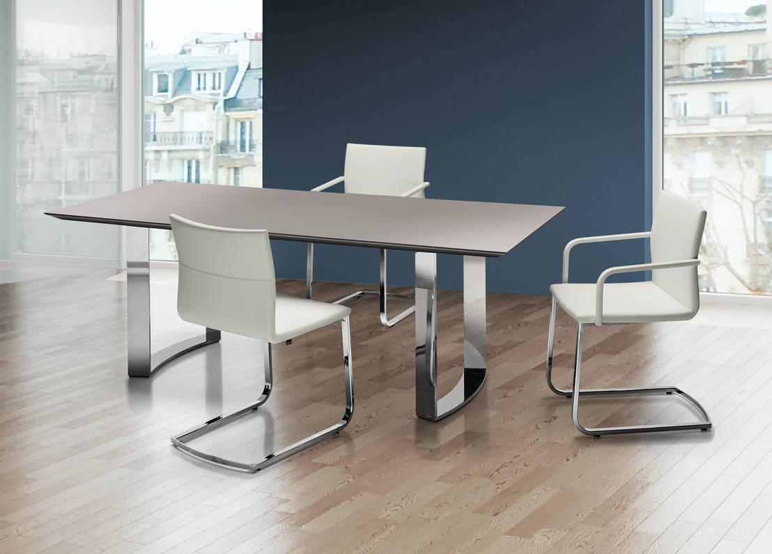 Bacher Tische m & W Bacher GmbH MIRADO Esstisch, Bank
