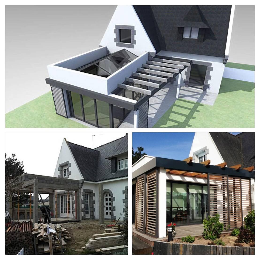 travaux de renovation avant apres par bcm homify. Black Bedroom Furniture Sets. Home Design Ideas