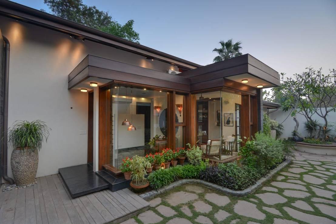 7 brillantes ideas para iluminar tu patio y jard n for Como cocinar setas parasoles