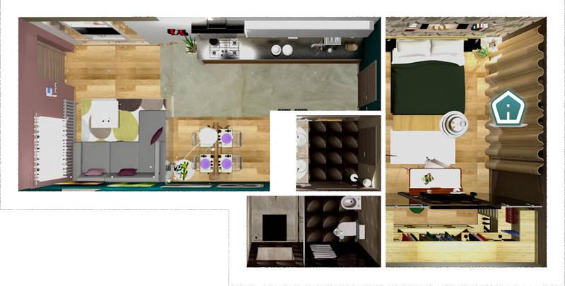Spaccati e planimetrie di 3d casa design homify for Planimetrie della casa di piantagione